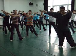 在杭州的舞乐指导