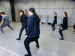 在首尔的舞乐指导