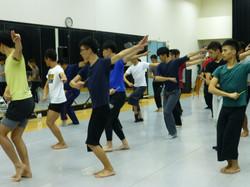 在台北的舞乐指导