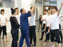 在上海的舞乐指导