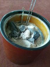 笙に用いる火鉢
