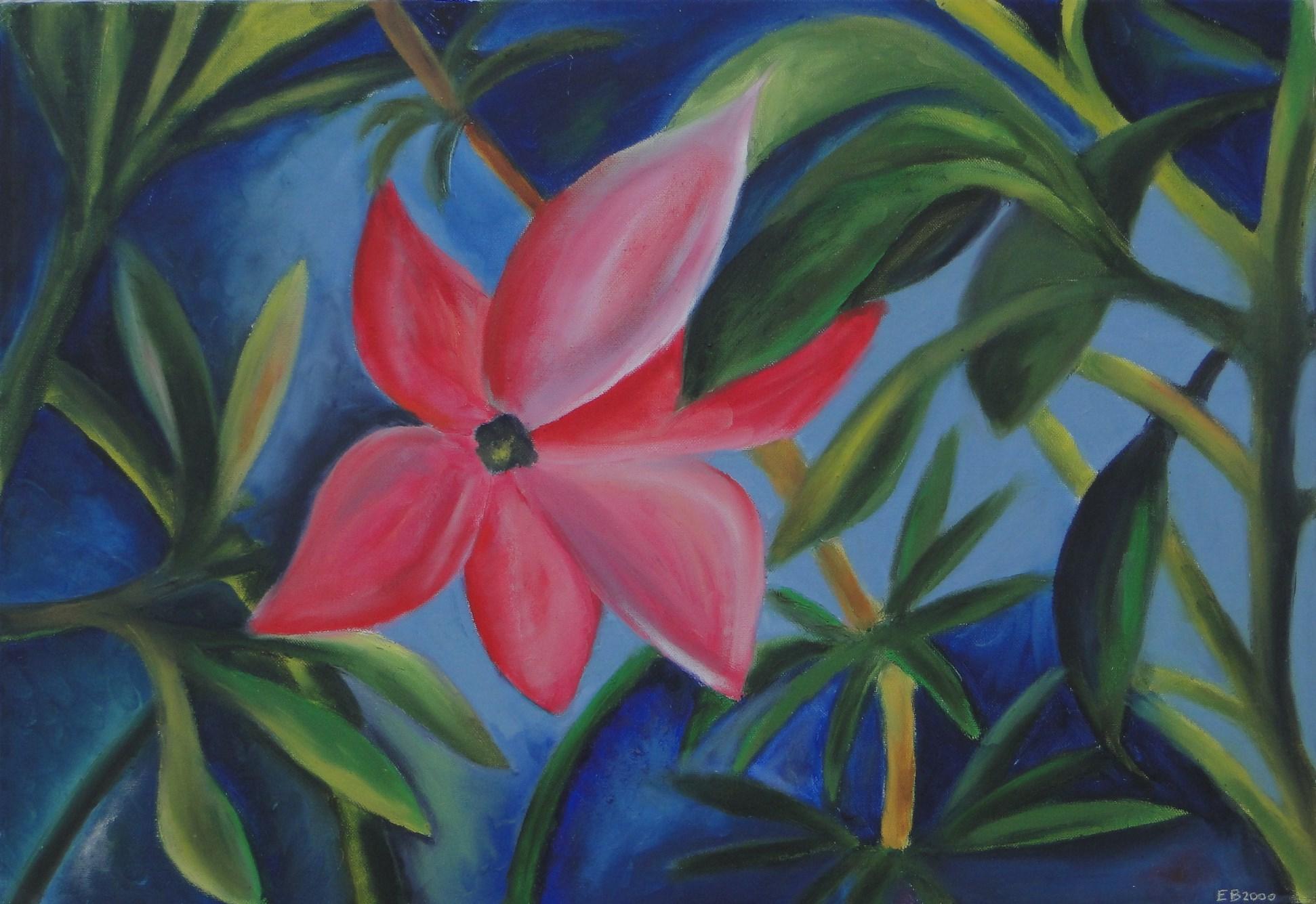 Fleur tropicale (2000?)