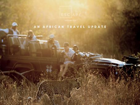Planning Your Next Safari: An African Travel Update
