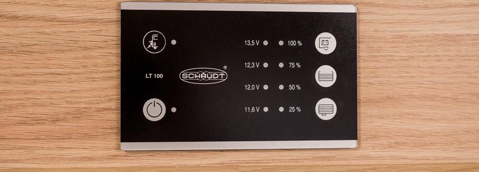 Sunlight A70 Innenansicht Touchpanel Str