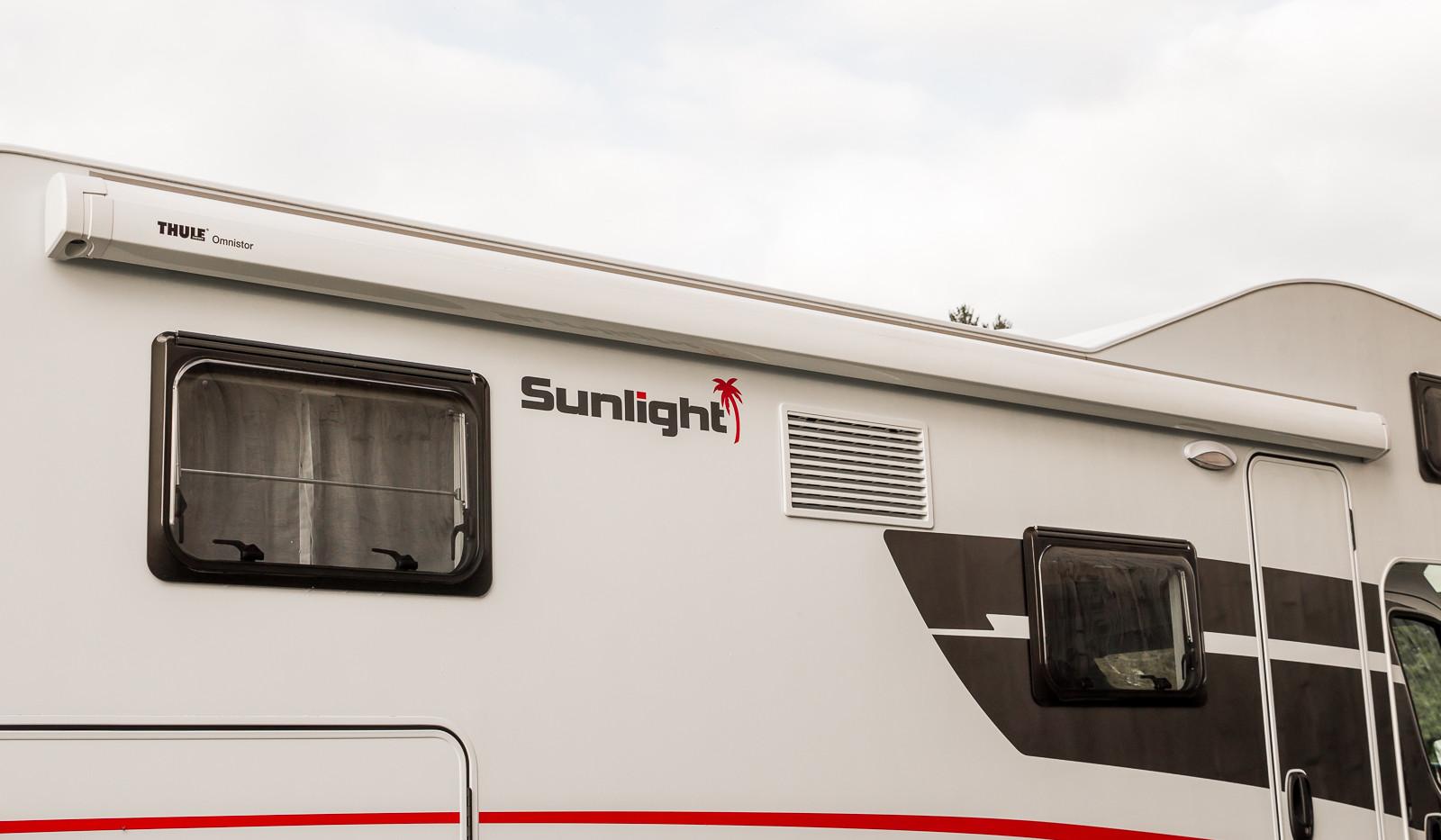 Sunlight A70 Aussenansicht Markise wohnm
