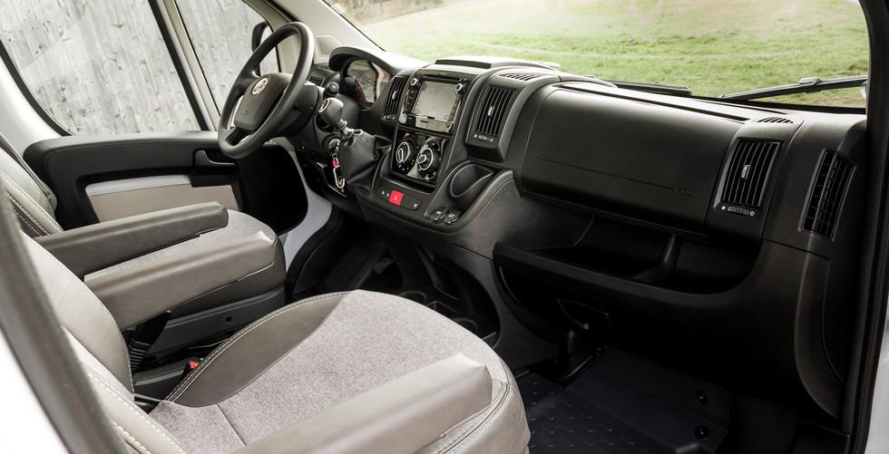 Sunlight A70 Innenansicht Beifahrerseite