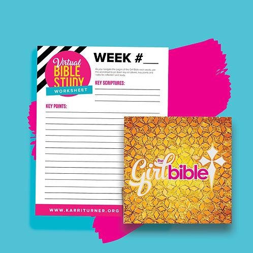 The Girl Bible + Worksheet Digital Download