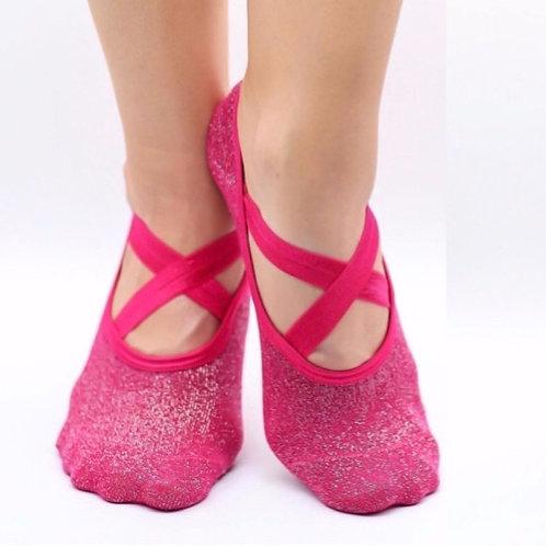 Sparkle Grip Socks