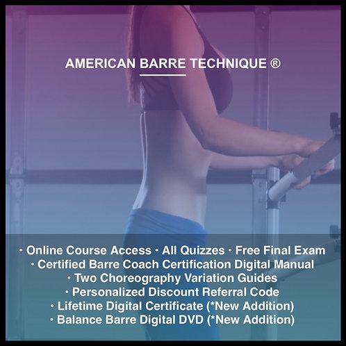 Level 4 Certified Barre Coach Certification