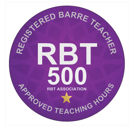 Registered Barre Teacher 500 Hour