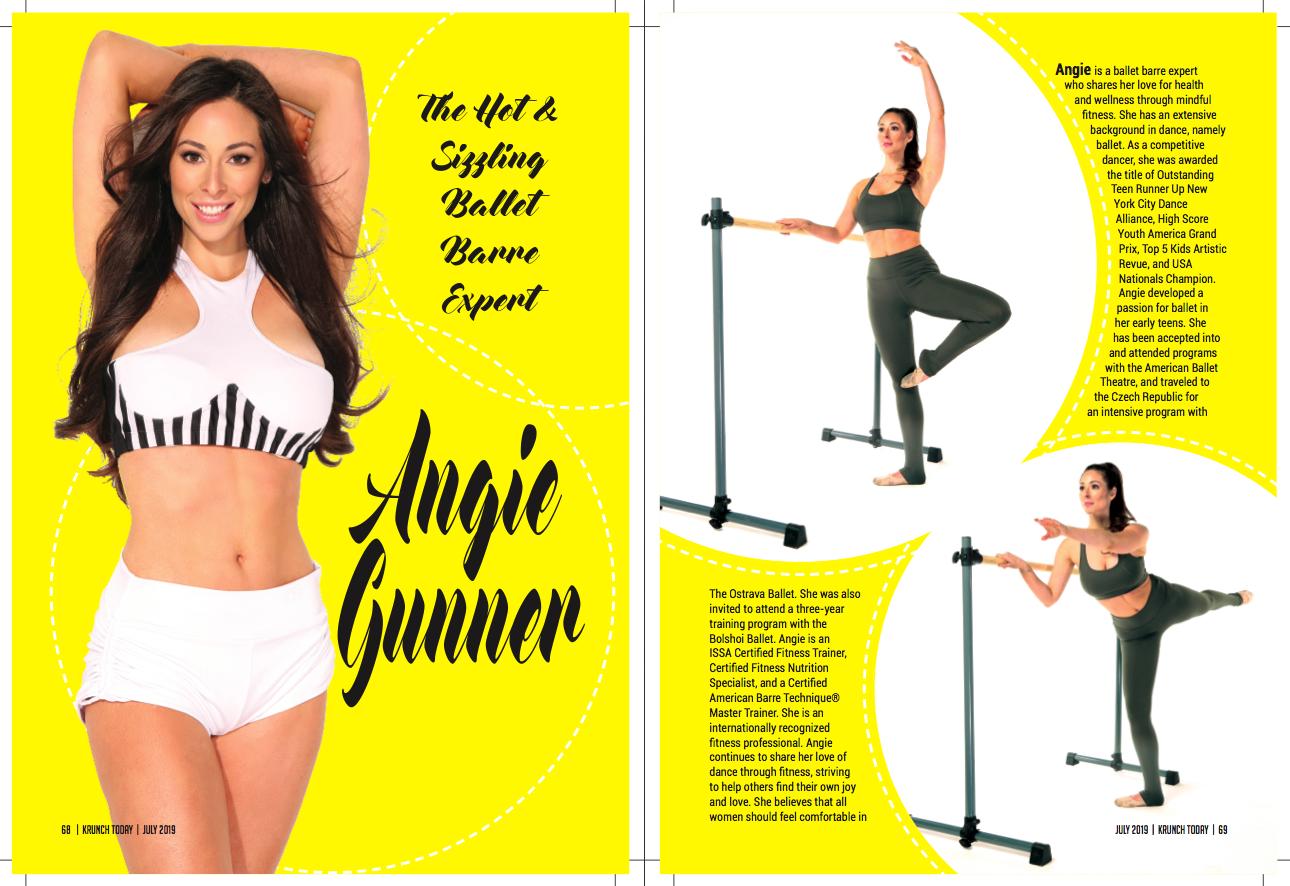 Krunch magazine | Angie Gunner Barre