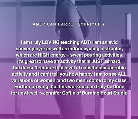 American Barre Technique | Onlin Barre Certification Courses