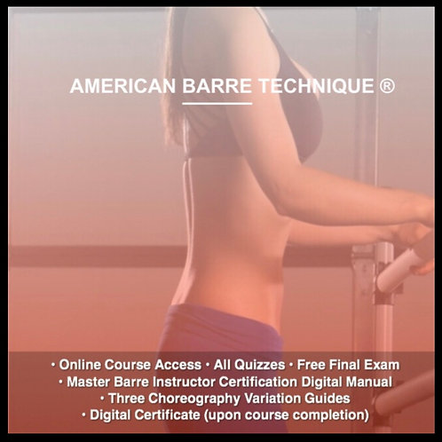 Level 3 Master Barre Instructor Certification Course