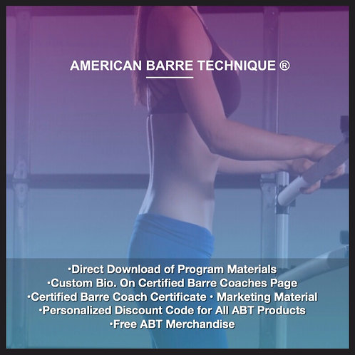 Level 4 Certified Barre Coach Program