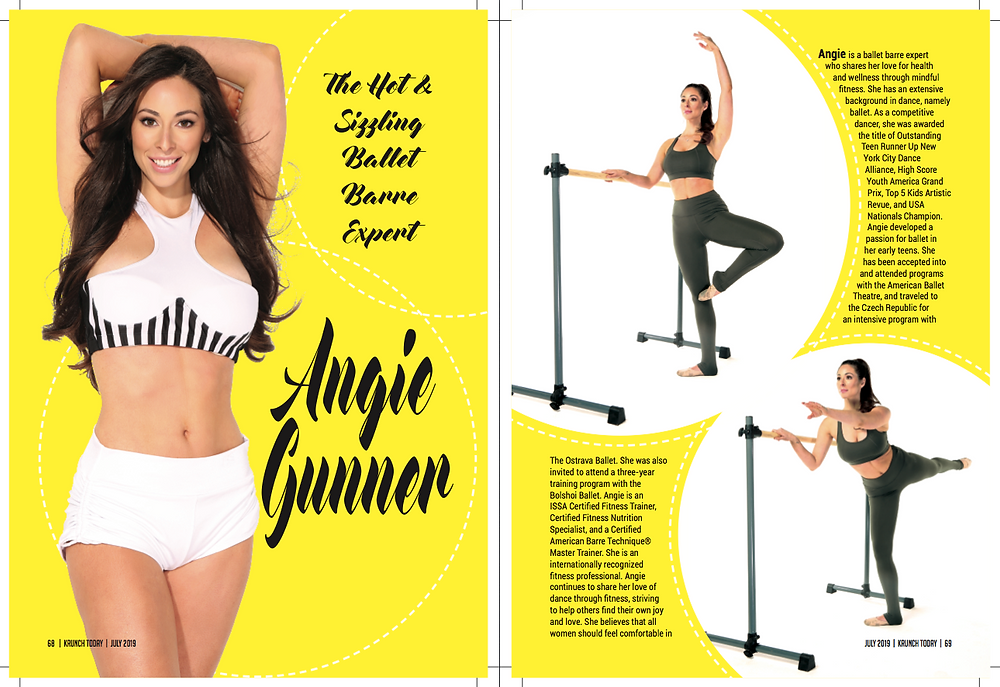 Angie Gunner Barre Workout | Krunch Magazine