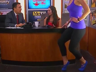 Angie and Hillery Gunner MEtv TV Appearance