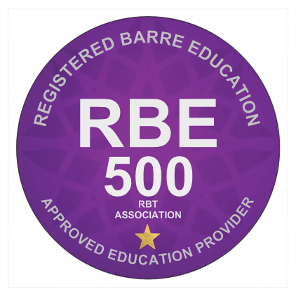 Registered Barre Education Provider 500 Hour