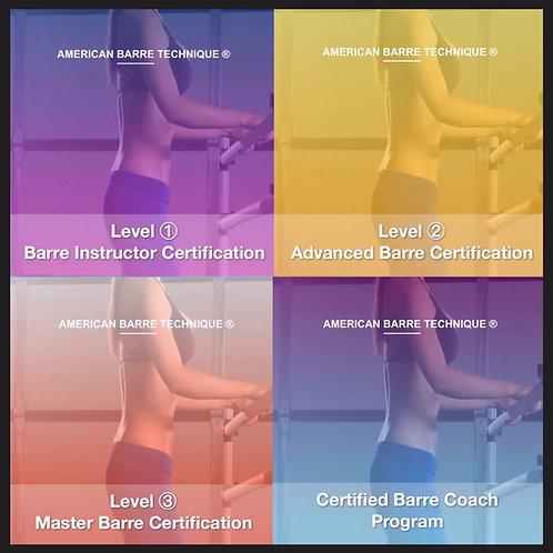 Barre Certifications Bundle