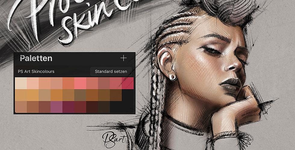 Free Skincolours for Procreate