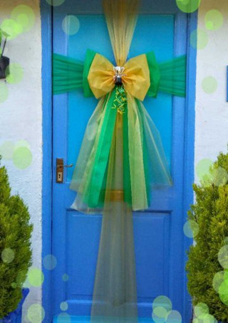NCFC Coloured Door Bow!