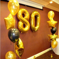 Congratulations 80 years young.