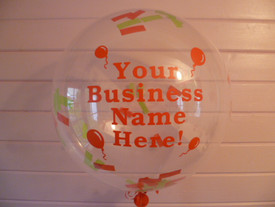 We can personalise your balloons!