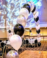 A stunning prom balloon arch!