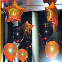 Hollywood style balloons!