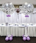 Glorious Glitter Globe Arrangements.