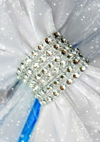 Blingy Diamante Effect Knot Door Bow!