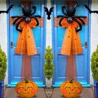 Halloween Boris The Spider Door Bow!