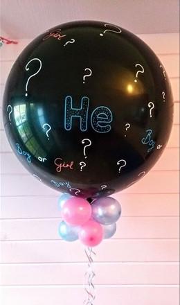 Gorgeous Giant Gender Reveal Balloon.