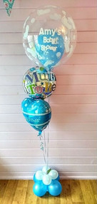 Beautiful Baby Boys Balloons.