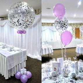 Gorgeous giant confetti balloons!