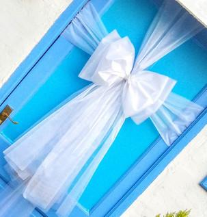 Pure White Door Bow!