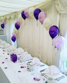 Doesn't this balloon arch look great!