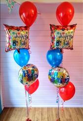 Happy Birthday Floor Standing Arrangements!
