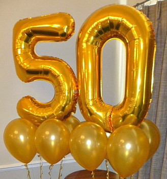 Congratulations on your 50th anniversary.