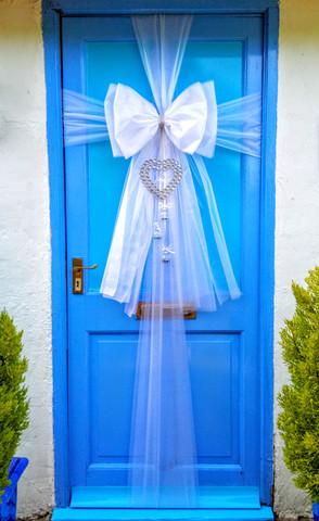 Romantic Wedding Door Bow!