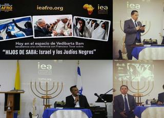 HIJOS DE SABA: ISRAEL Y LOS JUDÍOS NEGROS (Disertación en la Comunidad Mesiánica Yovel)