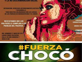 GRAN MARCHA DE LA AFROCOLOMBIANIDAD Y LA NO DISCRIMINACIÓN RACIAL