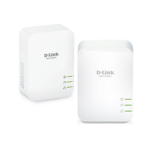 D-LINK POWERLINE AV2 1000 HD GIGABIT STARTER KIT(2 UNIDADES)