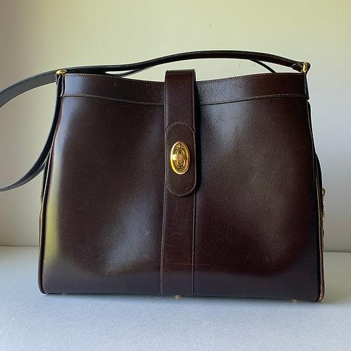 Tanino Crisci Box Calf Shoulder Bag