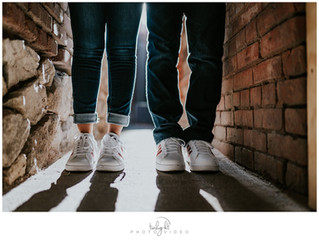 Downtown El Paso, Engagement Session - Leah and Alberto