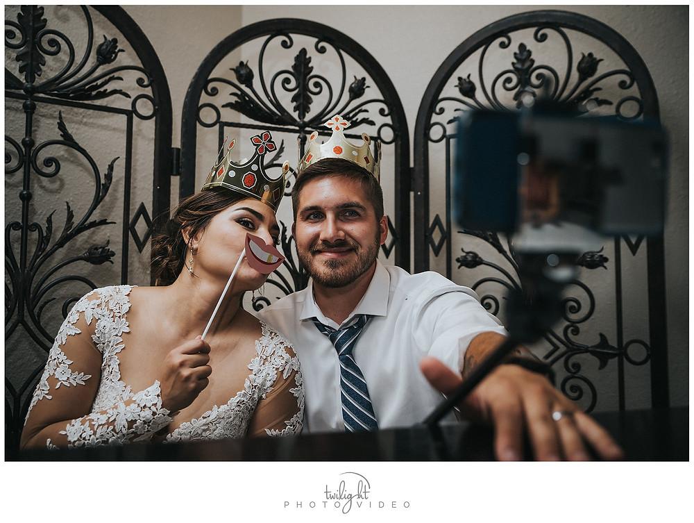 Reception Magoffin Hall Selfie-El Paso Wedding Photography