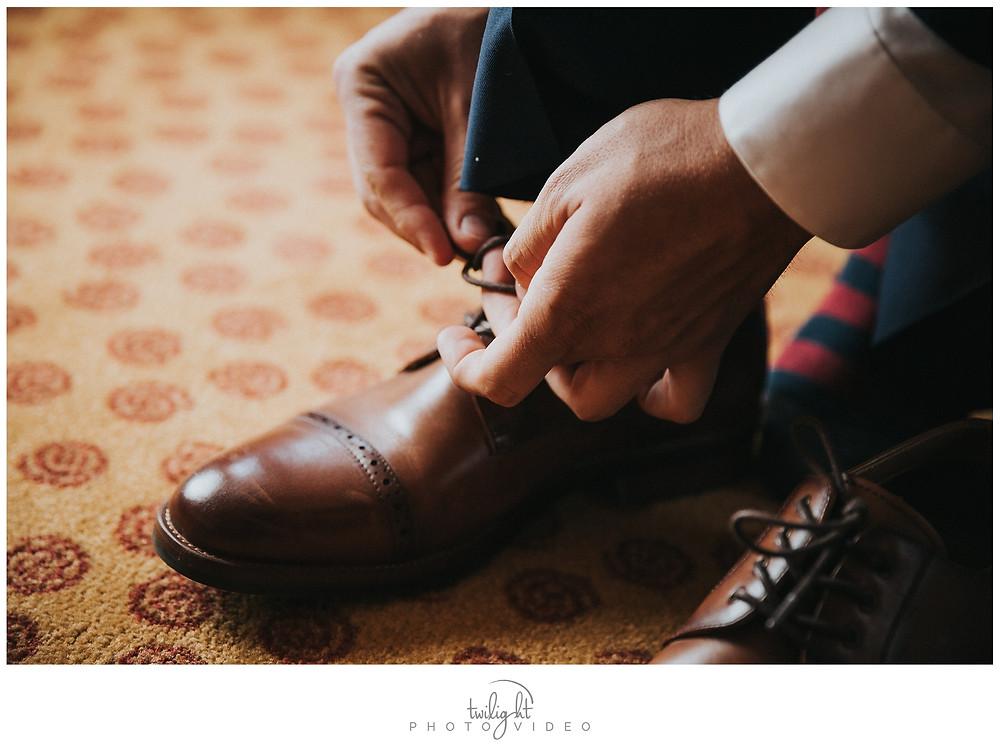 Groom's Shoes-El Paso Wedding Photography