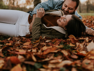 Fall Season Engagement Session in Allentown, PA {George + Lana}