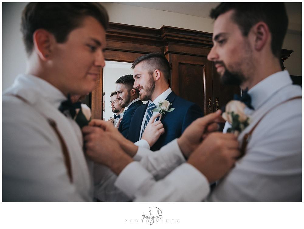 Groomsmen Getting Ready-El Paso Wedding Photography