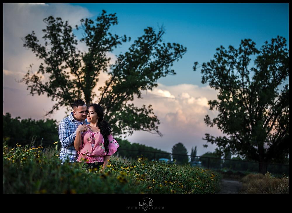 Engagement Session Calhoun Flower Farms