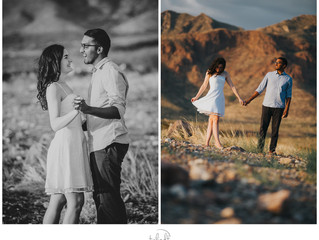 El Paso Engagement Session - Franklin Mountains